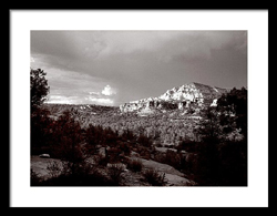Sedona Sunset by Joe Hoover Framed Print