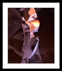 Antelope Canyon Indian by Joe Hoover