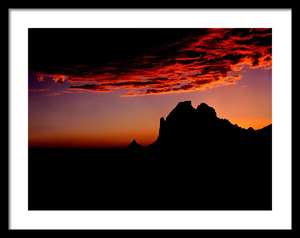 Sedona Sky Framed Print by Joe Hoover