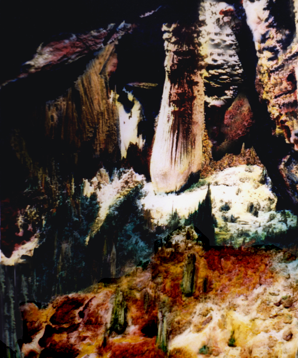 Carlsbad Caverns by Joe Hoover and Anni Adkins
